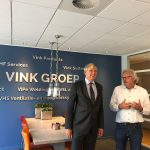 The mayor of Katwijk visits Induct