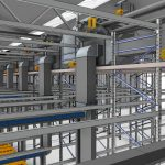 New production facility for stacked cultivation